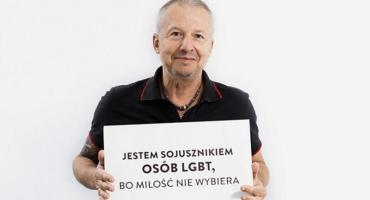 Bogusław Linda w kampanii wspierającej osoby LGBT [WIDEO]