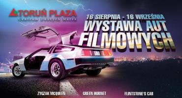 Pojazdy z kinowych hitów wjechały do Toruń Plaza