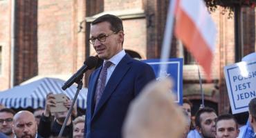 Kontrowersyjna wypowiedź Morawieckiego w Toruniu. Muzyk Republiki zbulwersowany słowami premiera