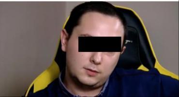 Śledczy bezwzględni dla kontrowersyjnego YouTubera z Torunia