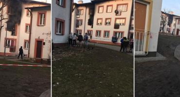 Doszczętnie zniszczone mieszkanie po wybuchu butli z gazem [FOTO]