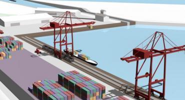 W regionie powstanie port przeładunkowy na Wiśle [WIZUALIZACJE]