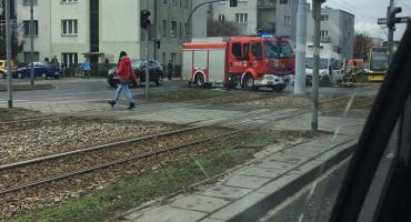Duże utrudnienia na Kraszewskiego w Toruniu. Co tam się stało? [FOTO]