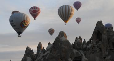 Oto najlepsze miejsce na wymarzony lot balonem