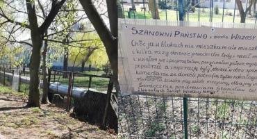 Szanowni Państwo z osiedla Wrzosy... Urocza karteczka pozostawiona przez Pana Stanisława