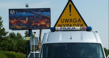 Śmiertelny wypadek w Toruniu. Nie żyje kobieta potrącona przez auto dostawcze [PILNE]