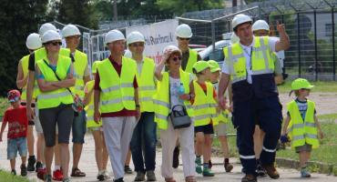Torunianie zwiedzili nowoczesną elektrociepłownię PGE w Toruniu [FOTO]