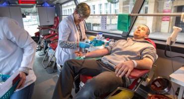 W czwartek można oddać krew i pomóc potrzebującym