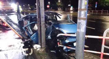 Groźny wypadek na Szosie Chełmińskiej w Toruniu [FOTO]