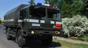 Akcja saperów przy brzegu Wisły w Kaszczorku!