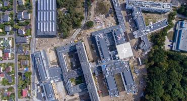 Finiszuje budowa kompleksu Wojewódzkiego Szpitala Zespolonego w Toruniu