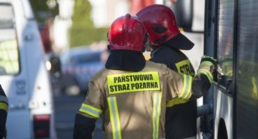 Matka z dziećmi zginęli w pożarze w Inowrocławiu. Policja zatrzymała mężczyznę