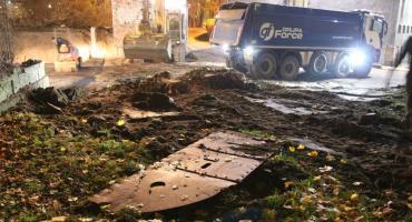 Kontrowersyjna rozbiórka w Toruniu. Zniknął kolejny element Twierdzy Toruń