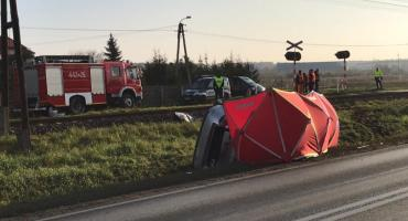 Janusz Dzięcioł nie żyje. Zginął w wypadku 100 metrów od swojego domu [FOTO]