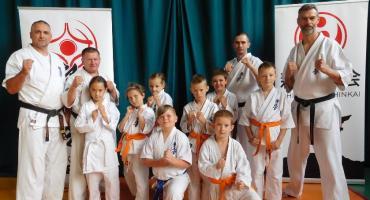 Klub Karate Kyokushin na kolejnej letniej szkole