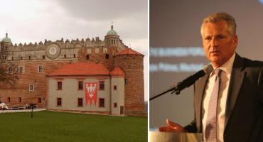 Aleksander Kwaśniewski w Golubiu-Dobrzyniu