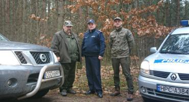 Straż Leśna i Policja połączyła siły