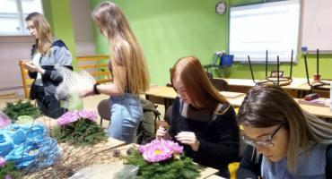 Uczennice ZS nr 2 w Golubiu-Dobrzyniu zostaną florystami