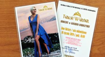 KONKURS!!! Koncert  Teresy Werner w Golubiu-Dobrzyniu