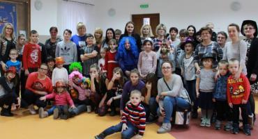 Impreza choinkowa w Olszówce