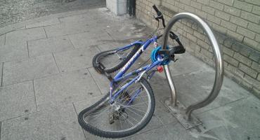 Po pijaku na kradzionym rowerze