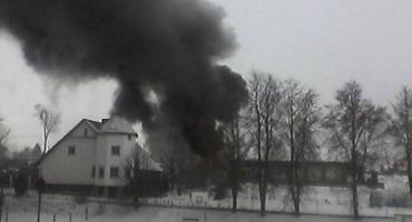 Pożar w Zbicznie